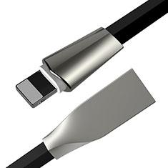 Cargador Cable USB Carga y Datos L06 para Apple iPhone 11 Pro Negro