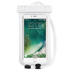 Funda Bolsa Impermeable y Sumergible Universal para Apple iPhone 11 Blanco