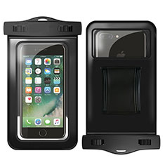 Funda Bolsa Impermeable y Sumergible Universal W02 para Apple iPhone 11 Pro Max Negro