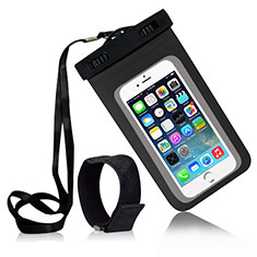 Funda Bolsa Impermeable y Sumergible Universal W04 para Apple iPhone 11 Negro