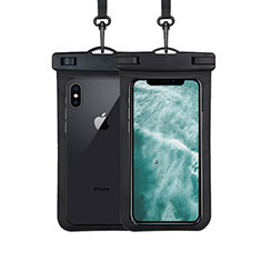 Funda Bolsa Impermeable y Sumergible Universal W07 para Apple iPhone 11 Pro Max Negro