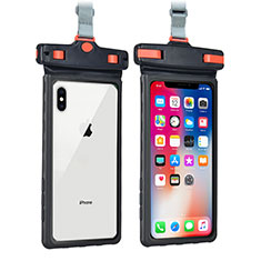 Funda Bolsa Impermeable y Sumergible Universal W09 para Apple iPhone 11 Negro