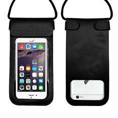 Funda Bolsa Impermeable y Sumergible Universal W10 para Apple iPhone 11 Negro