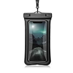 Funda Bolsa Impermeable y Sumergible Universal W12 para Apple iPhone 11 Negro