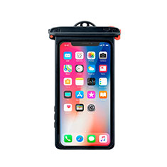 Funda Bolsa Impermeable y Sumergible Universal W14 para Apple iPhone 12 Mini Negro