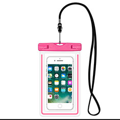 Funda Bolsa Impermeable y Sumergible Universal W16 para Apple iPhone 11 Rosa