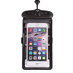 Funda Bolsa Impermeable y Sumergible Universal W18 para Apple iPhone 12 Mini Negro