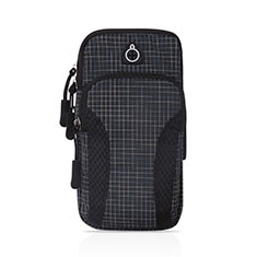 Funda Brazalete Deportivo Brazo Correr Universal A09 para Xiaomi Poco M3 Negro