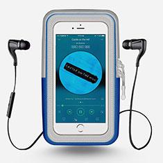 Funda Brazalete Deportivo Brazo Correr Universal para Nokia 3310 2017 Azul Cielo