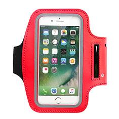 Funda Brazalete Deportivo Brazo Correr Universal B02 para Nokia 3310 2017 Rojo