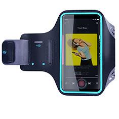 Funda Brazalete Deportivo Brazo Correr Universal G03 para Huawei Mate 7 Negro