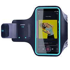 Funda Brazalete Deportivo Brazo Correr Universal G03 para Apple iPod Touch 4 Negro
