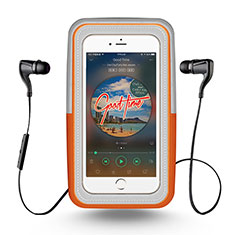 Funda Brazalete Deportivo Brazo Correr Universal para Nokia 3310 2017 Naranja