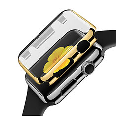 Funda Bumper Lujo Marco de Aluminio C02 para Apple iWatch 3 42mm Oro