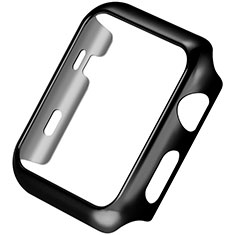 Funda Bumper Lujo Marco de Aluminio C03 para Apple iWatch 3 42mm Negro