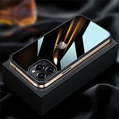 Funda Bumper Lujo Marco de Aluminio Carcasa para Apple iPhone 12 Pro Max Oro