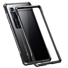 Funda Bumper Lujo Marco de Aluminio Carcasa para Xiaomi Mi 10 Ultra Negro