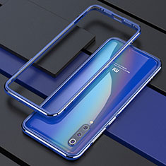 Funda Bumper Lujo Marco de Aluminio Carcasa para Xiaomi Mi 9 Pro 5G Azul