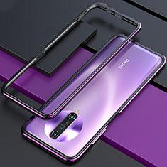 Funda Bumper Lujo Marco de Aluminio Carcasa para Xiaomi Poco X2 Morado