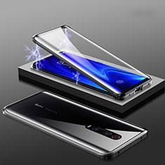 Funda Bumper Lujo Marco de Aluminio Espejo 360 Grados Carcasa M01 para Xiaomi Redmi K20 Negro