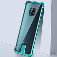 Funda Bumper Lujo Marco de Aluminio Espejo 360 Grados Carcasa T05 para Huawei Mate 20 Pro Verde