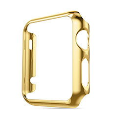 Funda Bumper Lujo Marco de Aluminio para Apple iWatch 3 42mm Oro