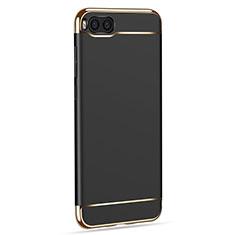 Funda Bumper Lujo Marco de Metal y Plastico para Xiaomi Mi Note 3 Negro