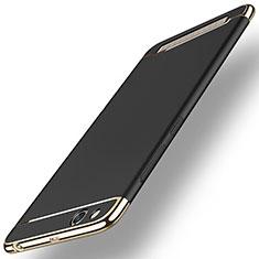 Funda Bumper Lujo Marco de Metal y Plastico para Xiaomi Redmi 5A Negro