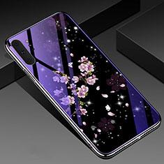 Funda Bumper Silicona Gel Espejo Flores Carcasa K01 para Samsung Galaxy Note 10 Plus 5G Multicolor