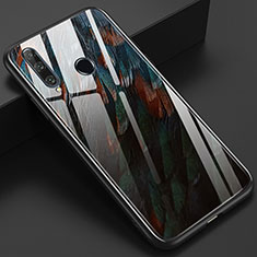 Funda Bumper Silicona Gel Espejo Patron de Moda Carcasa K04 para Huawei Honor 20 Lite Marron