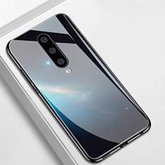Funda Bumper Silicona Gel Espejo Patron de Moda Carcasa M01 para OnePlus 8 Negro