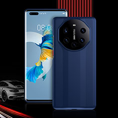 Funda Bumper Silicona y Plastico Carcasa Frontal y Trasera 360 Grados R01 para Huawei Mate 40 Pro Azul