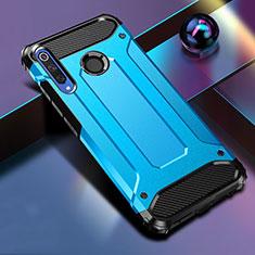 Funda Bumper Silicona y Plastico Mate Carcasa K01 para Huawei Honor 20 Lite Azul