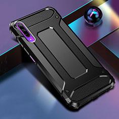 Funda Bumper Silicona y Plastico Mate Carcasa para Huawei Honor 9X Pro Negro