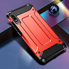 Funda Bumper Silicona y Plastico Mate Carcasa para Huawei Honor 9X Rojo