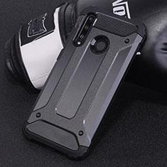 Funda Bumper Silicona y Plastico Mate Carcasa R01 para Huawei Honor 20 Lite Negro