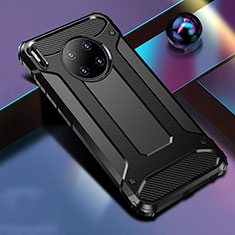 Funda Bumper Silicona y Plastico Mate Carcasa R01 para Huawei Mate 30 Negro