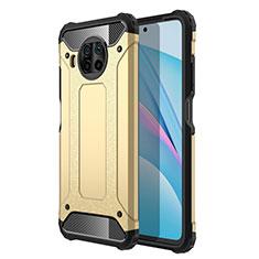 Funda Bumper Silicona y Plastico Mate Carcasa R01 para Xiaomi Mi 10T Lite 5G Oro