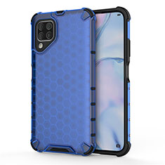 Funda Bumper Silicona y Plastico Mate Carcasa R02 para Huawei Nova 6 SE Azul