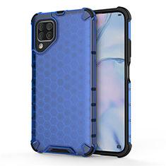 Funda Bumper Silicona y Plastico Mate Carcasa R02 para Huawei P40 Lite Azul