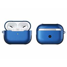 Funda Bumper Silicona y Plastico Mate Carcasa U01 para Apple AirPods Pro Azul