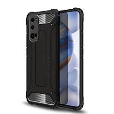 Funda Bumper Silicona y Plastico Mate Carcasa U01 para Huawei Honor 30 Pro Negro