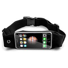 Funda Cinturon Brazo Correr Universal B30 para Sony Xperia XA2 Ultra Negro