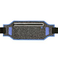 Funda Cinturon Brazo Correr Universal L08 para Nokia 3310 2017 Azul