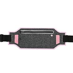 Funda Cinturon Brazo Correr Universal L08 para Nokia 3310 2017 Rosa