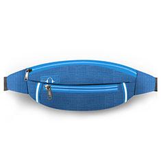 Funda Cinturon Brazo Correr Universal L09 para Nokia 3310 2017 Azul