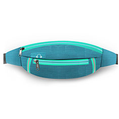 Funda Cinturon Brazo Correr Universal L09 para Nokia 3310 2017 Azul Cielo