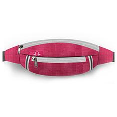 Funda Cinturon Brazo Correr Universal L09 para Nokia 3310 2017 Rojo