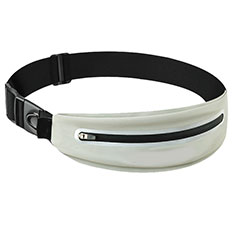 Funda Cinturon Brazo Correr Universal L11 para Nokia 3310 2017 Blanco