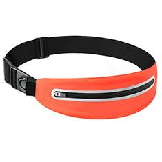 Funda Cinturon Brazo Correr Universal L11 para Nokia 3310 2017 Naranja